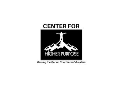 Center for Higher Purpose