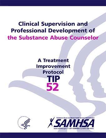 TIP 52 Clinical Supervision